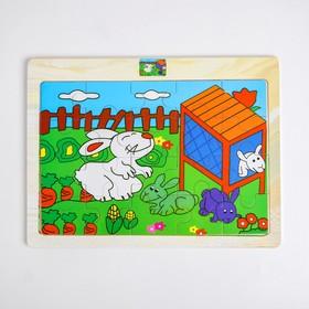 Деревянная игрушка «Кролик»