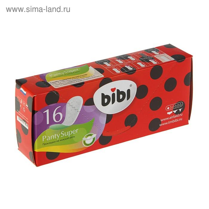 Ежедневные прокладки BiBi Panty Super, 16 шт