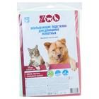 Впитывающие подстилки для животных C-airlaid-ZOO 210*297мм, 10 шт