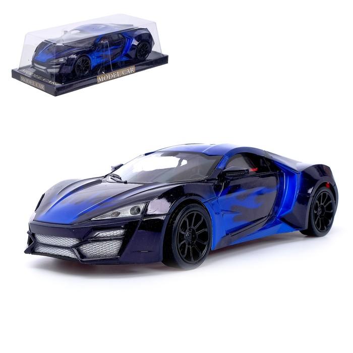 Машина инерционная «Спорт Кар», цвет синий