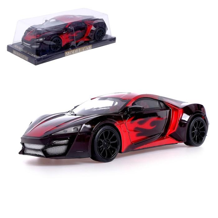 Машина инерционная «Спорт Кар», цвет красный
