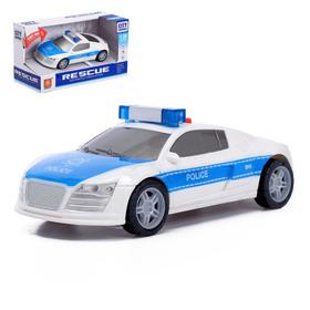 Машина инерционная «Полиция», световые и звуковые эффекты, 1:28