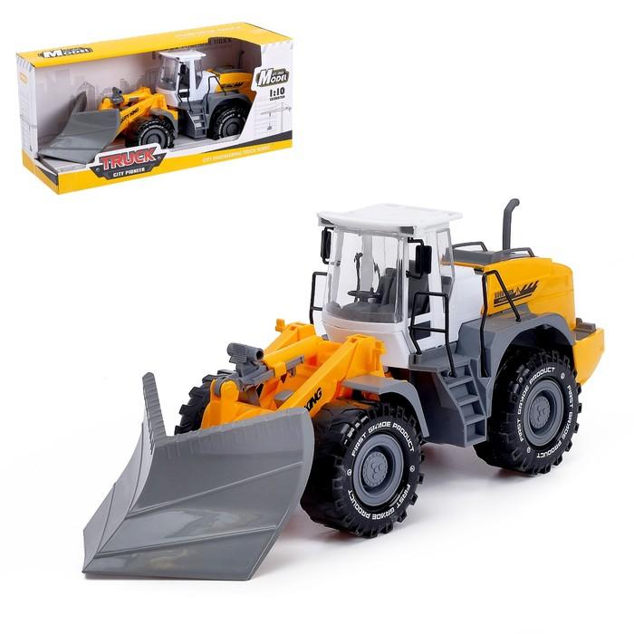Трактор инерционный «Погрузчик», с отвалом