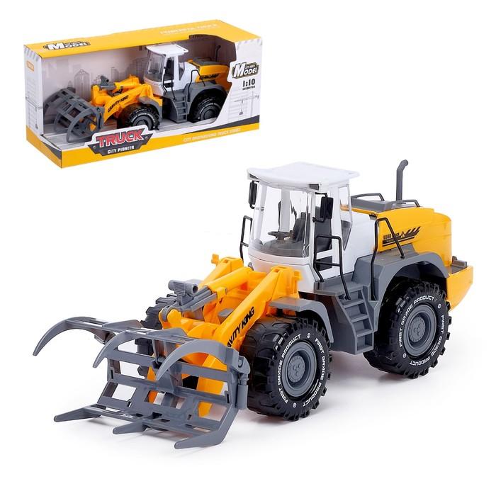 Трактор инерционный «Погрузчик», с вилами