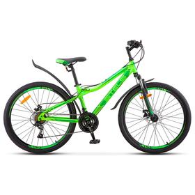 """Велосипед 26"""" Stels Navigator-510 MD, V030, цвет неоновый-зеленый, размер 14"""""""