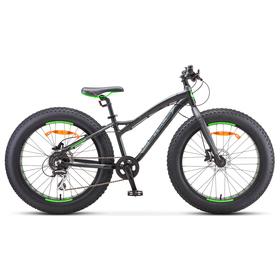 "Велосипед 24"" Stels Aggressor D, V010, цвет чёрный, размер 13,5"""
