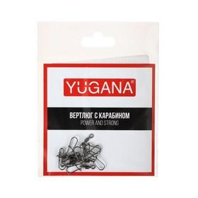 Карабин с вертлюгом Swivel with Snap №10, 12 кг, 8 шт.