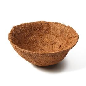 Вкладыш в кашпо, d = 35 см, кокос, «Сфера»