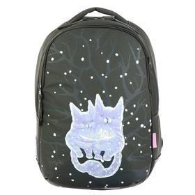 Рюкзак школьный Bruno Visconti, 42 х 31 х 14 см, эргономичная спинка, «Нежные котики»