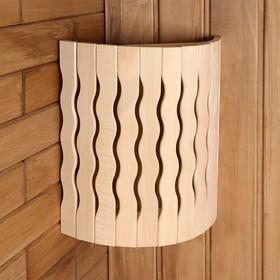 Абажур деревянный, полукруглый 'Волна' Ош