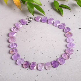 """Necklace tumbling large """"Amethyst"""""""
