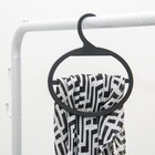 Hanger for scarves and wraps with a great hook