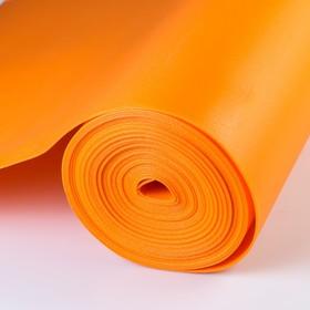 Евролон флористический 2 мм, апельсин, рулон 1х10 м