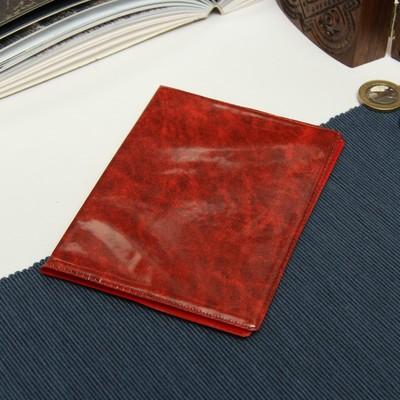 Обложка для паспорта, без тиснения, МИКС