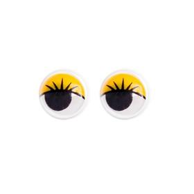 Eyes set 100 PCs 1 PCs 1 size cm, color yellow