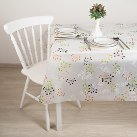 """Oilcloth PVC """"Branches"""", width 137 cm, roll of 30 meters"""