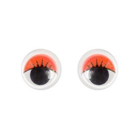 Eyes kit 100 PCs size 1 piece 1.2 cm, color red