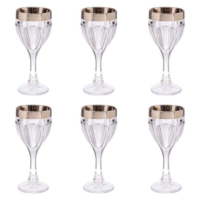 УЦЕНКА Набор для вина, 6 бокалов 190 мл, 39 × 14 × 30 см