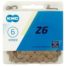 """Цепь КМС Z6, 6 скоростей, 1/2 × 3/32"""" × 116"""