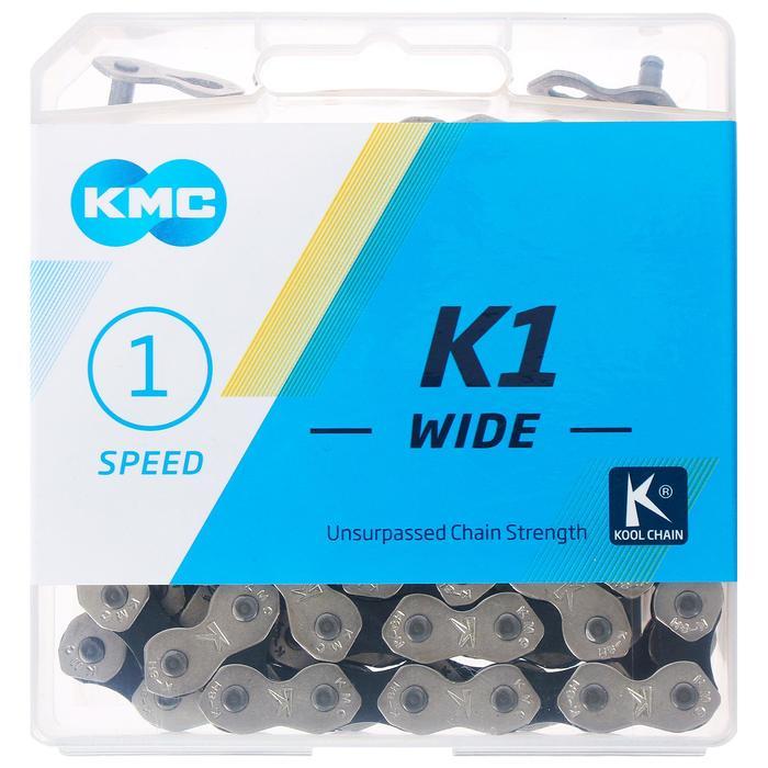 """Цепь КМС K1 WIDE, 1 скорость, 1/2 × 1/8"""" × 110"""