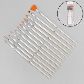 A set of brushes 12 pcs.