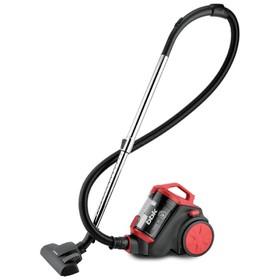 Пылесос BBK BV1507, 1400/245 Вт, 1.5 л, циклонный фильтр, чёрно-красный