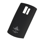Чехол-накладка Nokia Asha 205, матовый черный