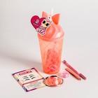 Подарочный набор для бровей в стакане «Милая альпака», 26  х 9 х 6 см - фото 489743