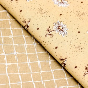 Набор ткани пэчворк «Солнечный день», 50 х 50 см