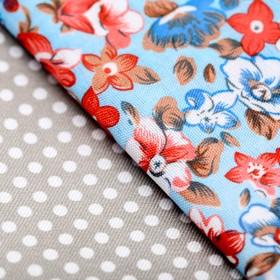 Набор ткани пэчворк «Девичьи грезы», 50 х 50 см
