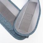 Хипсит, цвет серо-голубой - фото 105548797