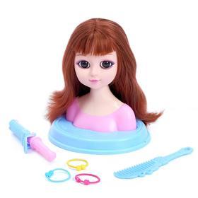 Кукла-манекен для создания причесок «Настенька», с аксессуарами, МИКС