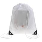 Рюкзак складной, на пуговице, нейлоновый, с усиленными уголками, цвет белый