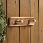 """Вешалка деревянная, 2 крепления """"Термо"""" - фото 4641925"""