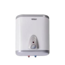 Водонагреватель DeLuxe 5W30V1, накопительный, 1500 Вт, 30 л, над мойкой, бело-серебристый