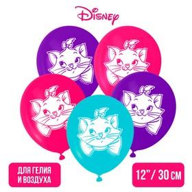 """Воздушные шары «С Днем Рождения», Коты Аристократы, 5 шт., 12"""""""