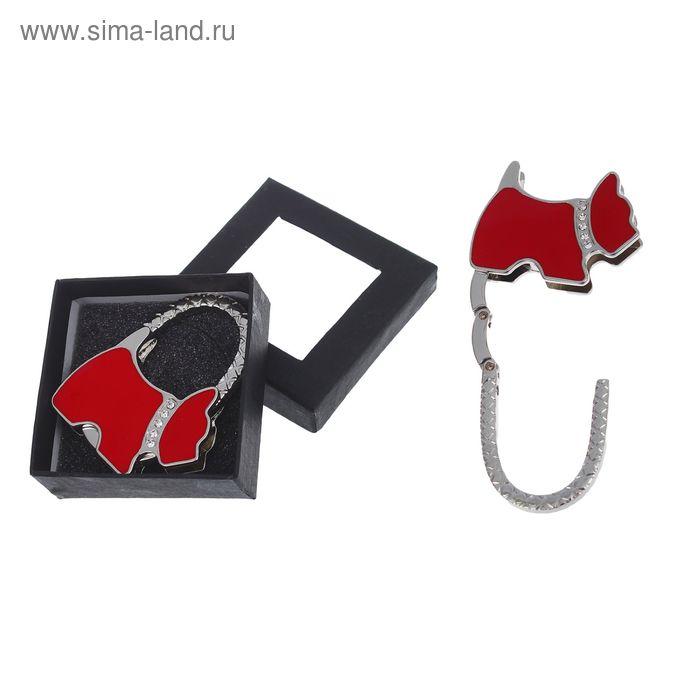 """Крючок-подвеска для сумки и зонта раскладной """"Собачка"""", цвета МИКС"""