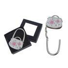"""Крючок-подвеска для сумки и зонта раскладной """"Сумка с цветами"""", цвета МИКС"""