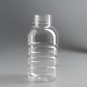 "Bottle 0.3 liters. ""Barrel"", without lid"