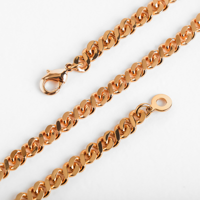 "Chain ""Status"" tubular netting, 60cm, color gold"