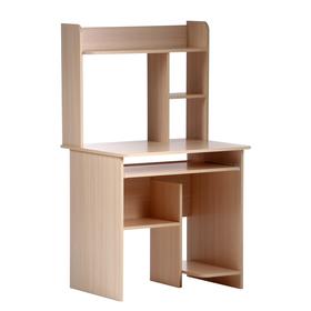 Стол компьютерный Комфорт 3, 804х632х1395, Дуб паллада