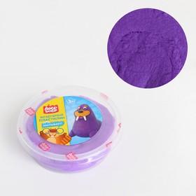 Воздушный пластилин «ДобрБобр», фиолетовый, 50 мл