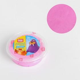 Воздушный пластилин «ДобрБобр», розовый, 50 мл