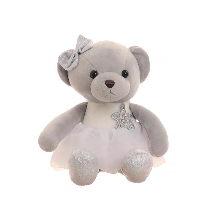 Мягкая игрушка «Мишка со звездой», цвета МИКС - фото 4471001