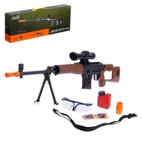 Механическая винтовка «СВД», стреляет гелевыми пулями