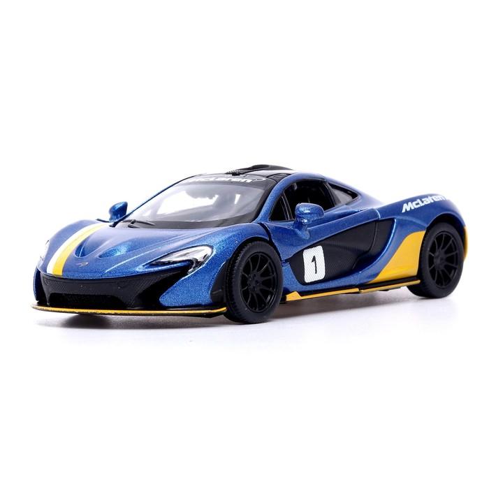 Машина металлическая McLaren P1 , 1:36, открываются двери, инерция, МИКС - фото 105651273
