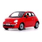 Машина металлическая Fiat 500, 1:28, открываются двери, инерция, МИКС - фото 105651275