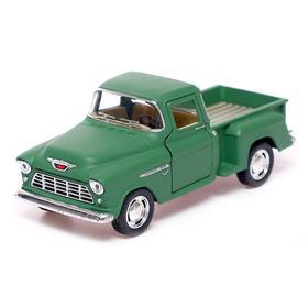 Машина металлическая Chevy Stepside Pick-up, 1:32, открываются двери, инерция, МИКС