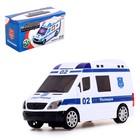 Машина «Полиция», световые и звуковые эффекты, работает от батареек - фото 105649345