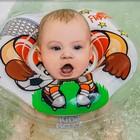 Надувной круг на шею для купания малышей Flipper Футболист - фото 105455963